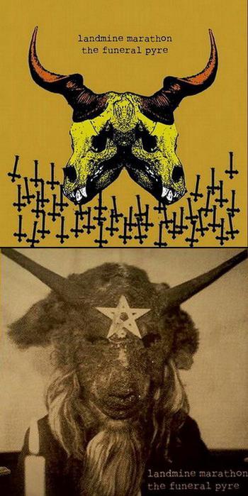 The Funeral Pyre / Landmine Marathon - Landmine Marathon / The Funeral Pyre