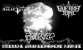 Hell Torment / Guerra Total / Perversifier - Nuklear Metalkoholik Attack