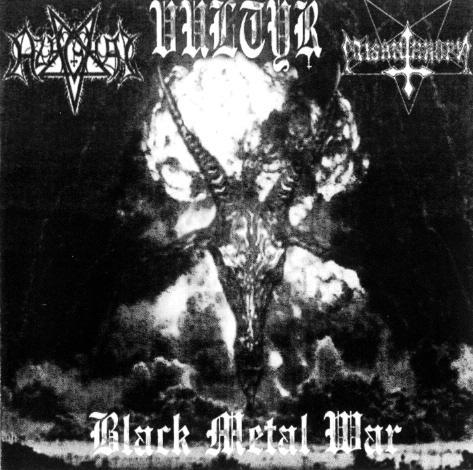 Azaghal / Misanthropy / Vultyr - Black Metal War