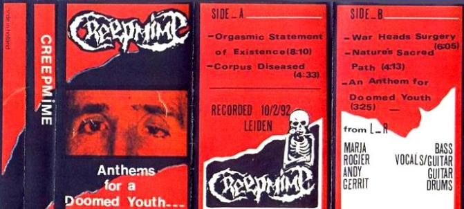 Creepmime - Anthems for a Doomed Youth...