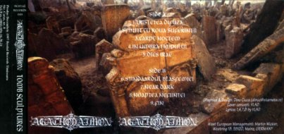 Agathodaimon - Tomb Sculptures