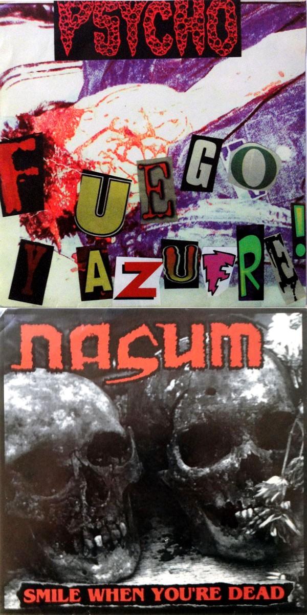 Nasum - Fuego y Azufre! / Smile When You're Dead