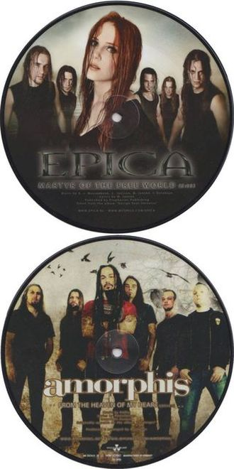 Amorphis / Epica - Martyr of the Free Word / From the Heaven of My Heart