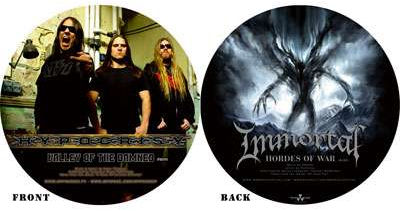 Immortal / Hypocrisy - Valley of the Damned / Hordes of War