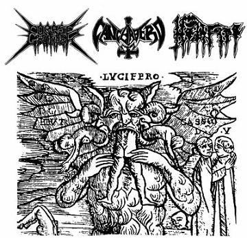 Cancerbero / Hellfire / Corpse Grinder - Corpse Grinder / Cancerbero / Hellfire