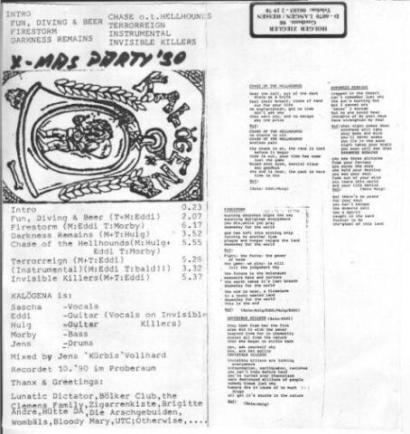 Kalögena - Demo 90/X-Mas Party