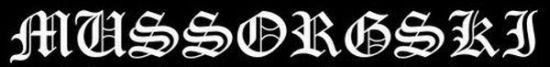 Mussorgski - Logo