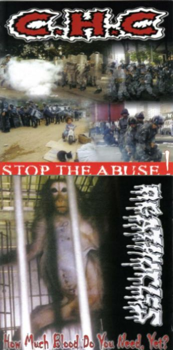 Agathocles - Stop the Abuse! / How Much Blood Do You Need Yet?