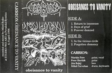 Carrion - Obeisance to Vanity