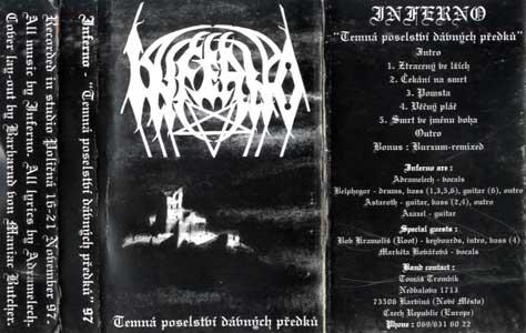Inferno - Temná poselství dávných předků