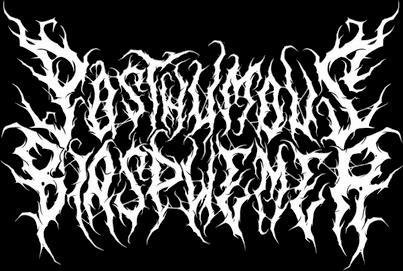 Posthumous Blasphemer - Logo