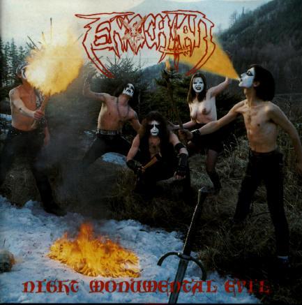 Enochian - Night Monumental Evil