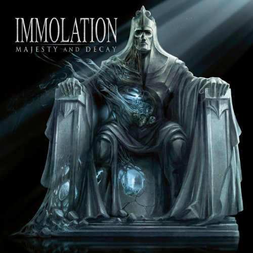 Cover of Immolation - Majesty And Decay