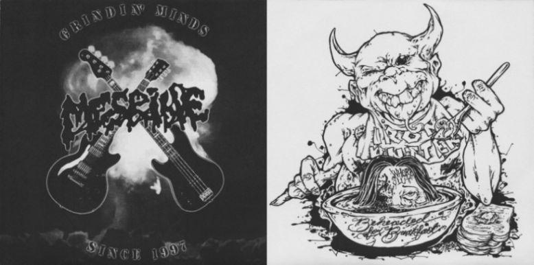 Mesrine - Grindin' Minds Since 1997 / Beheaded for Breakfast