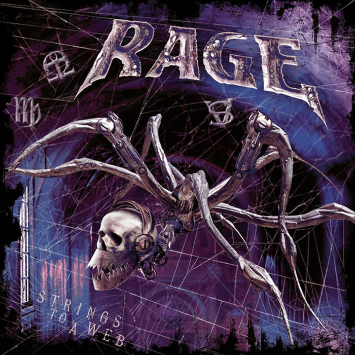 Cover of Rage - Strings To A Web