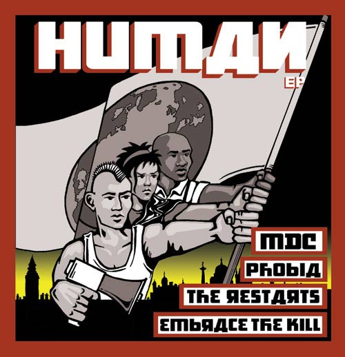 Phobia / Embrace the Kill - Human EP