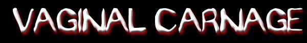 Vaginal Carnage - Logo