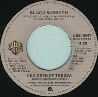Black Sabbath - Lady Evil / Children of the Sea