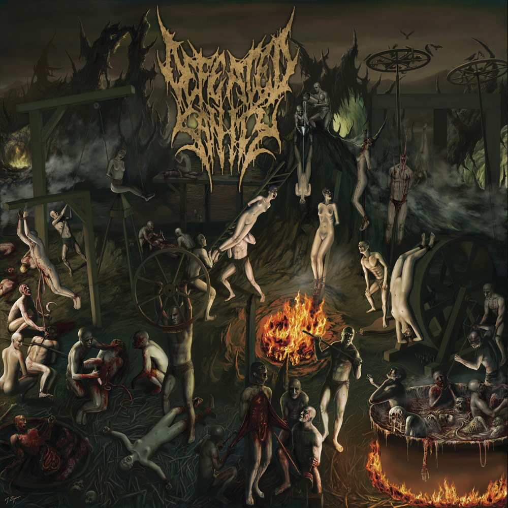 Cover of Defeated Sanity - Chapters of Repugnance