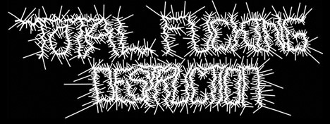 Total Fucking Destruction - Logo