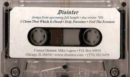 Disinter - Promo