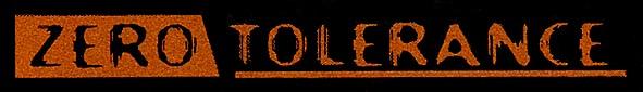 Zero Tolerance - Logo