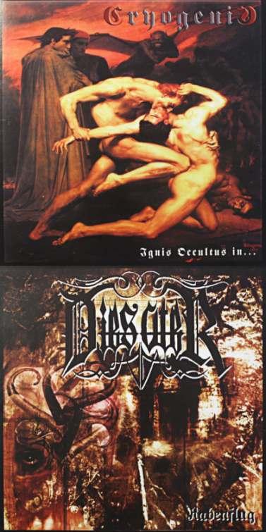 Dies Ater / Cryogenic - Rabenflug / Ignis Occultus In...