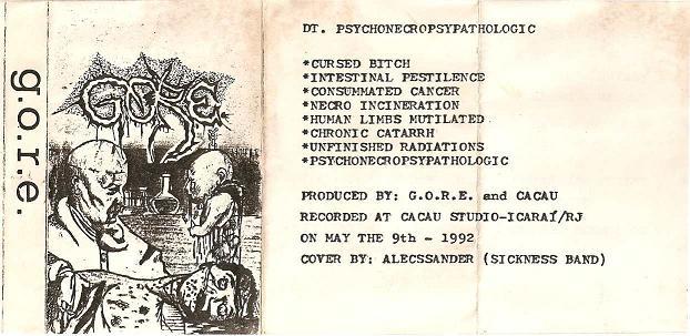 Gore - Psychonecropsypathologic