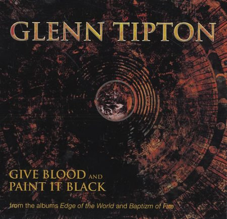 Glenn Tipton - Give Blood / Paint It Black