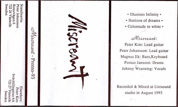 Miscreant - Promo 93