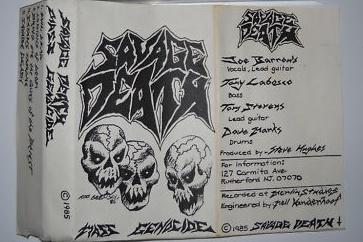 Savage Death - Mass Genocide
