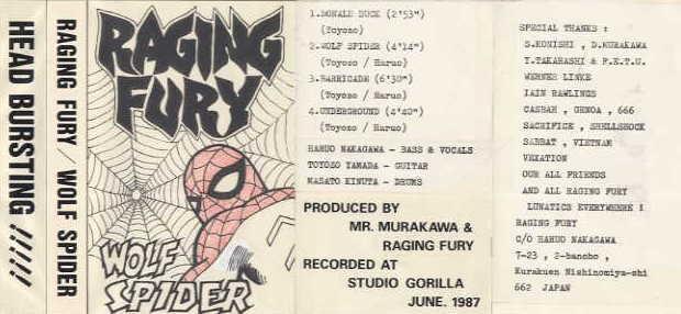 Raging Fury - Wolf Spider