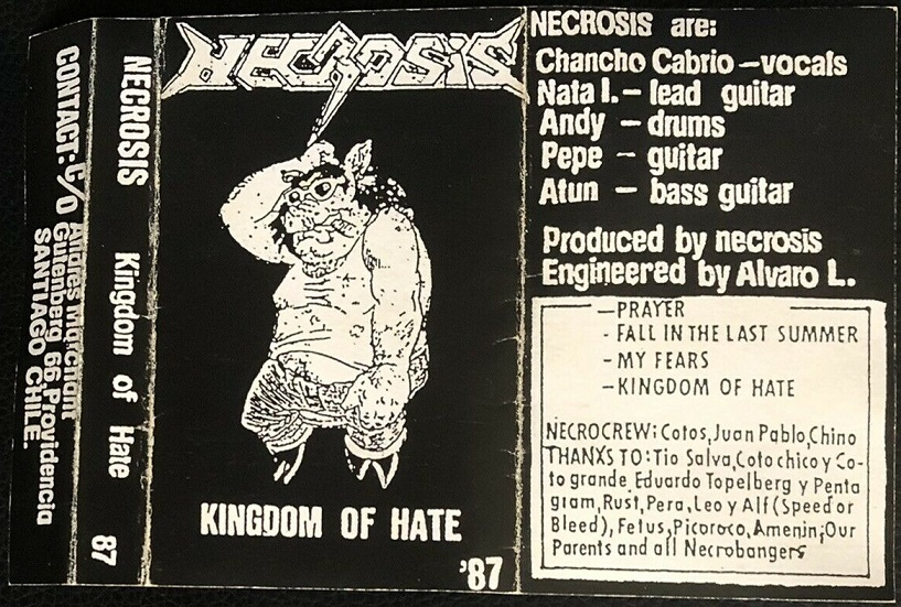 Necrosis - Kingdom of Hate
