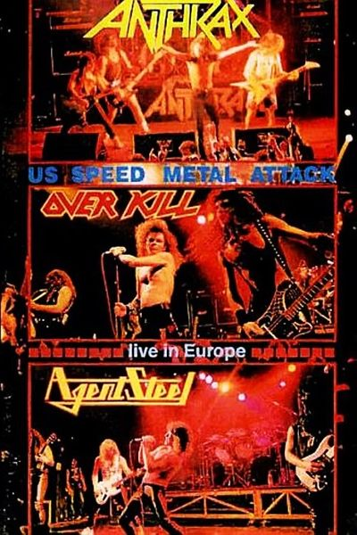 Overkill / Anthrax / Agent Steel - Metal Hammer Roadshow 1