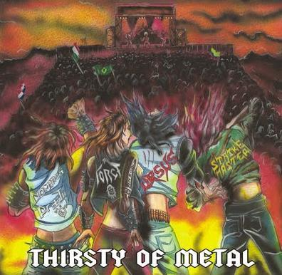 Dominus Praelii / Strike Master / The Force / Ursus - Thirsty of Metal