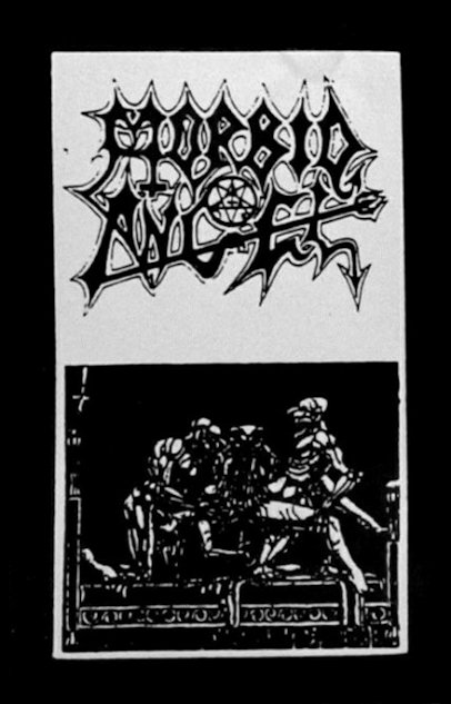 Scream Forth Blasphemies cover (Click to see larger picture)