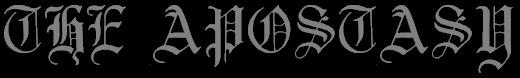 The Apostasy - Logo