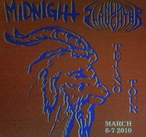 Nunslaughter / Midnight - Tejano Tour March 6-7 2010