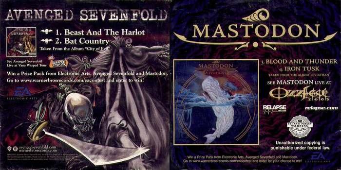 Mastodon - Mastodon / Avenged Sevenfold