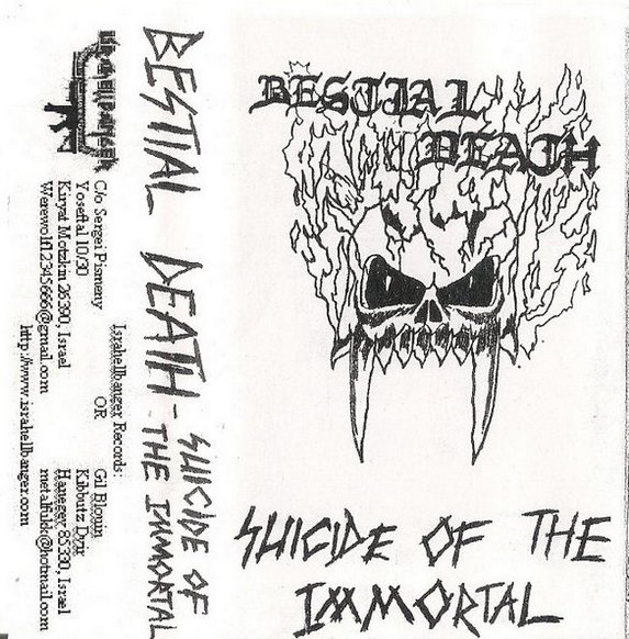 Bestial Death - Suicide of the Immortal