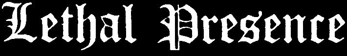 Lethal Presence - Logo