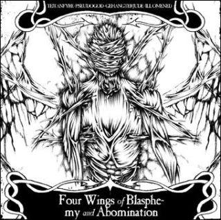 Pseudogod / Teitanfyre / Ill Omened / Gehängter Jude - Four Wings of Blasphemy and Abomination