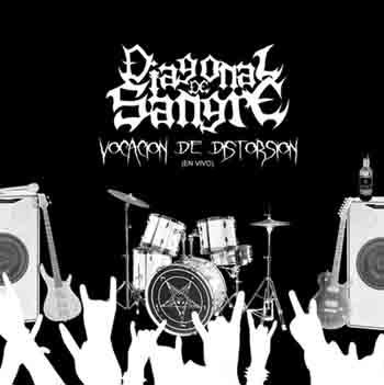Diagonal de Sangre - Vocación de distorsión - Live at Necro Blasphemy II