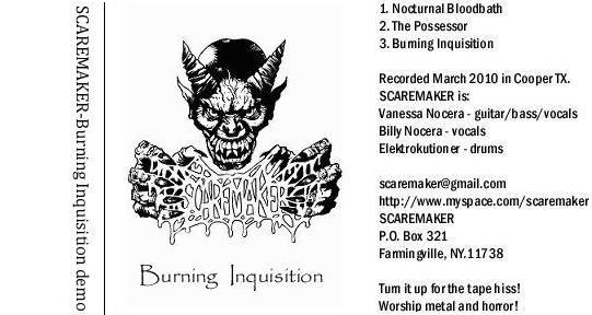 Scaremaker - Burning Inquisition
