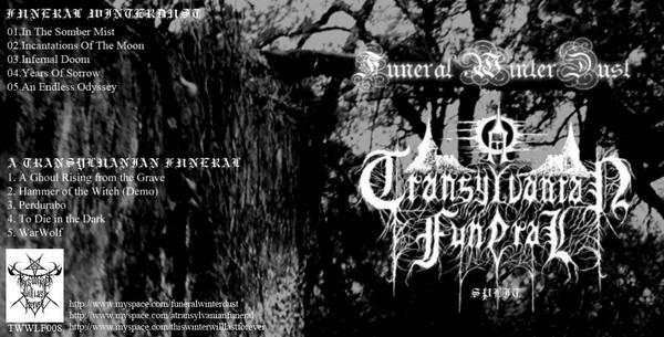 Funeral Winterdust / A Transylvanian Funeral - Funeral Winterdust / A Transylvanian Funeral