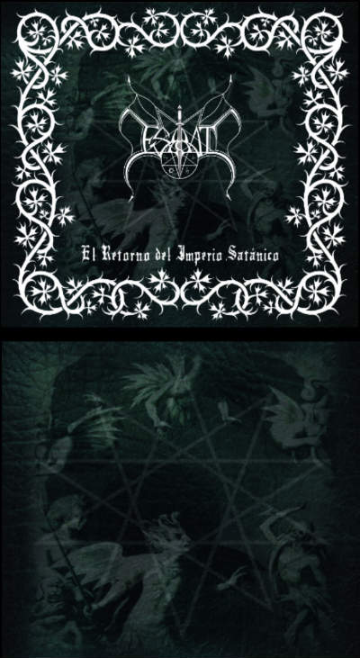El Retorno del Imperio Satánico cover (Click to see larger  picture)