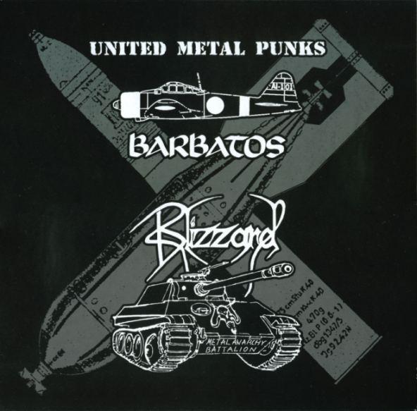 Barbatos / Blizzard - United Metal Punks