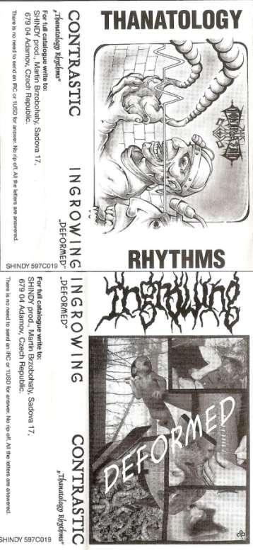 Ingrowing / Contrastic - Thanatology Rhythms / Deformed