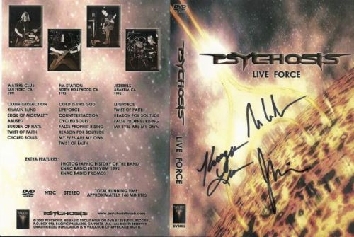 Psychosis - Live Force