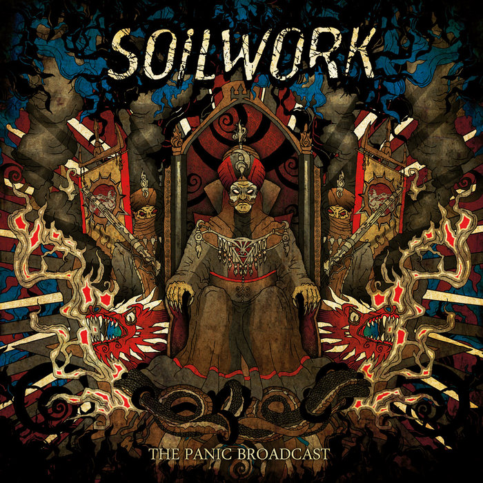 Cover of Soilwork - The Panic Broadcast